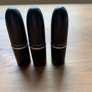 MAC Mini Lipsticks 2/$25
